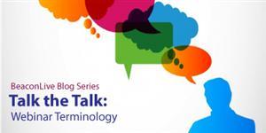 Webinar Terminology blog