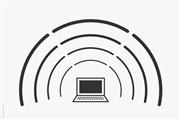 Laptop Airwaves Wifi Broadcast