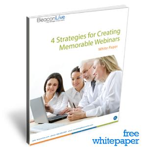 Free Download: 4 Strategies for Creating Memorable Webinars
