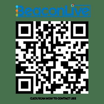 Contact BeaconLive QR Code