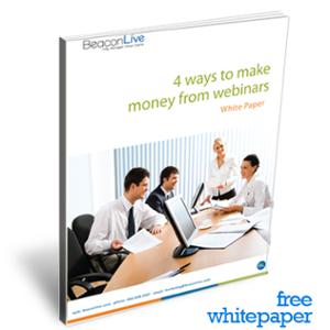 Free Download: 4 Ways to Make Money from Webinars