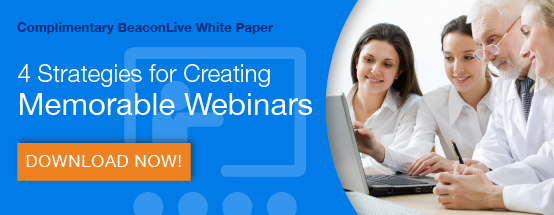 4 strategies for creating memorable webinars