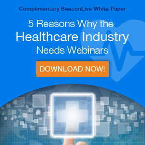 why the healthcare industry needs webinars